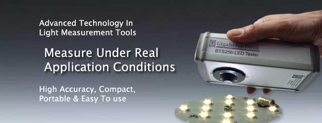 Spectrolightmeter BTS 256 LED