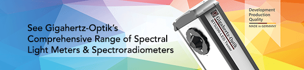 See our comprehensive product range of light meters and spectroradiometers at Gigaheretz-Optik