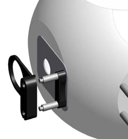 The arrangement of the UPB-150-ART's five measurement ports enables its universal use.