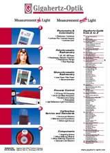 Gigahertz-Optik Product Listing Poster